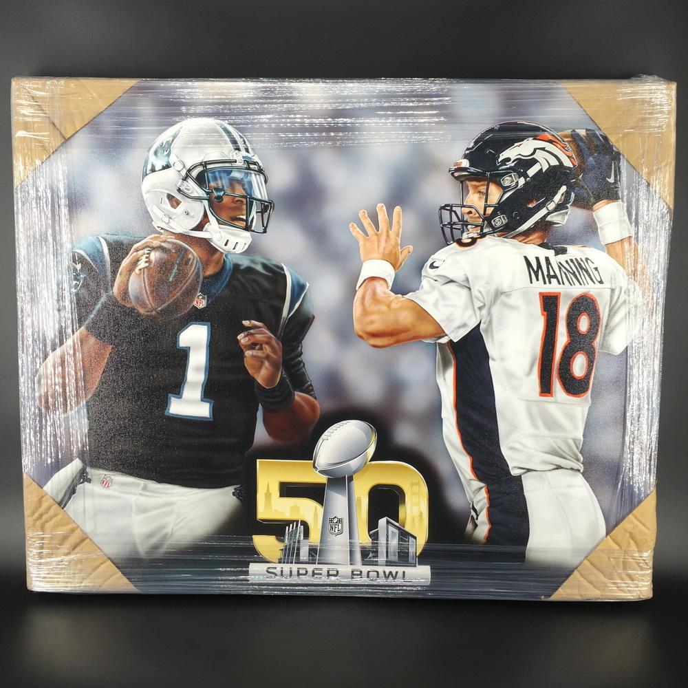 NFL - Cam Newton/ Payton Manning 30