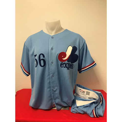 Photo of Fernando Rodney Expos Gear: Game-Used Jersey and Game-Used Pants