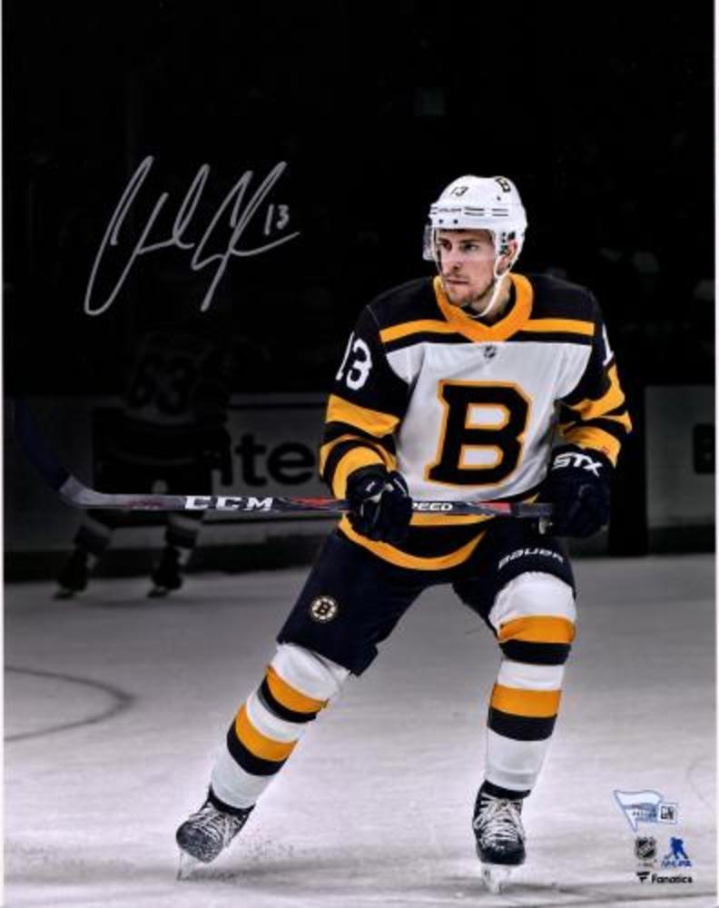 Charlie Coyle Boston Bruins Autographed 11