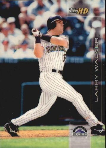 Photo of 2001 Topps HD #5 Larry Walker
