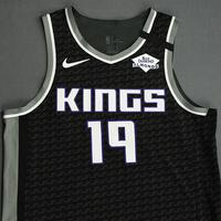 DaQuan Jeffries - Sacramento Kings - Game-Worn Statement Edition Jersey - 2019-20 NBA Season Restart with Social Justice Message