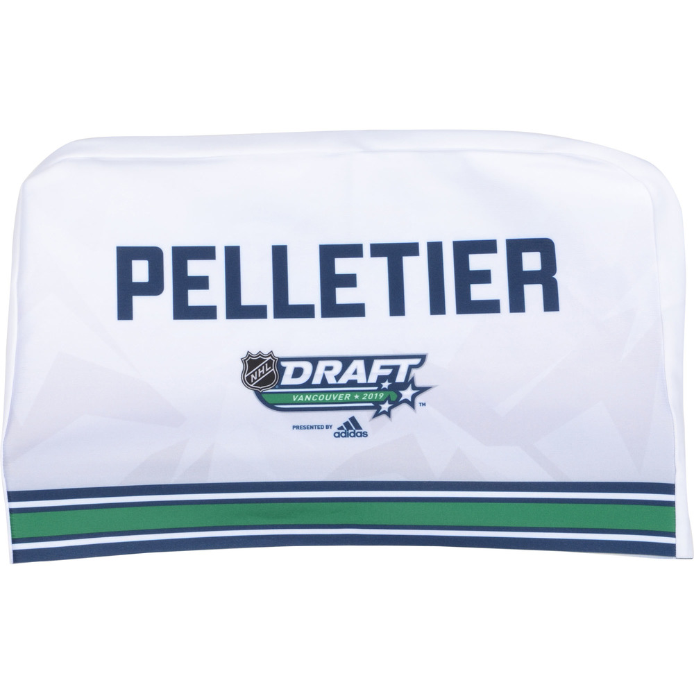 Jakob Pelletier Calgary Flames 2019 NHL Draft Seat Cover - Second set (Not Used)
