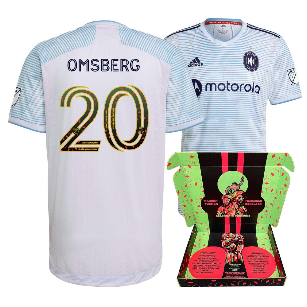 Wyatt Omsberg Chicago Fire FC Player-Issued & Signed