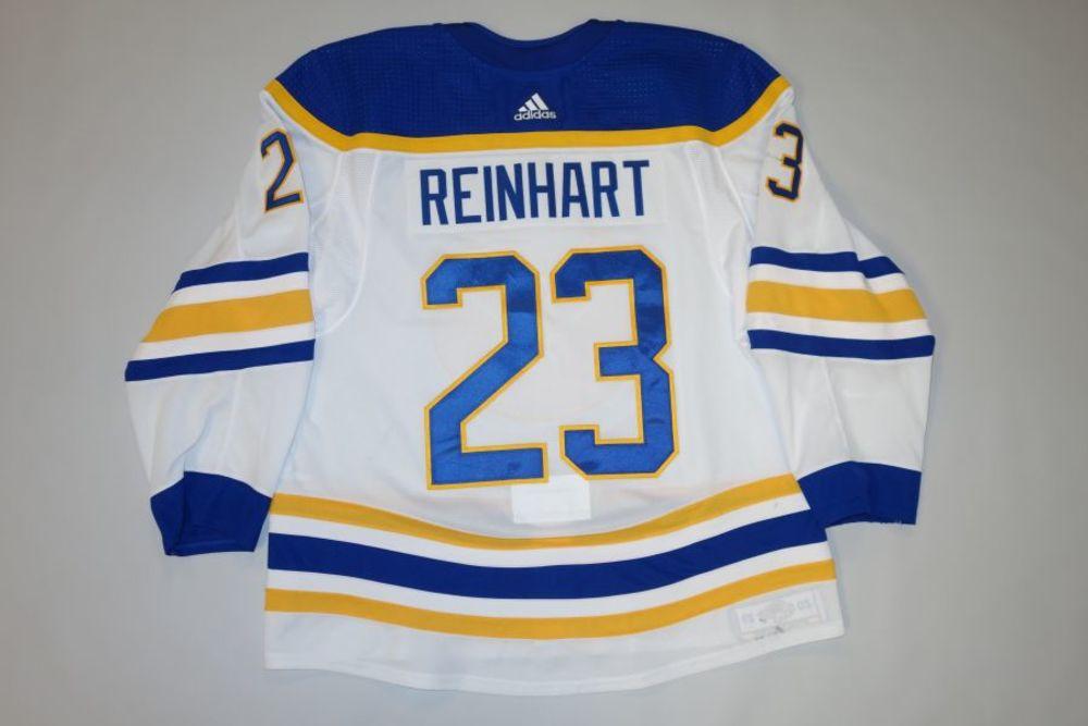 Sam Reinhart 2020-21 Buffalo Sabres Set 2 Away Jersey