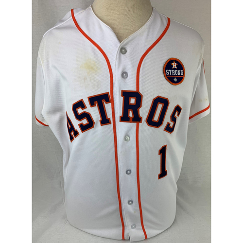 Photo of Carlos Correa 2017 Game-Used Jersey - Size 46