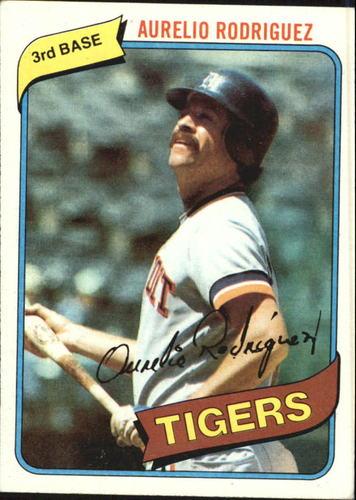 Photo of 1980 Topps #468 Aurelio Rodriguez