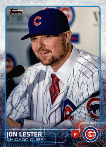 Photo of 2015 Topps #406 Jon Lester