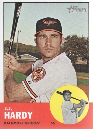 Photo of 2012 Topps Heritage #88 J.J. Hardy