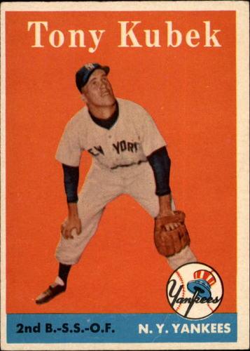 Photo of 1958 Topps #393 Tony Kubek