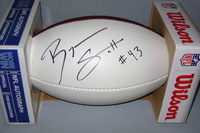 NFL - BILLS BRYAN SCOTT SIGNED PANEL BALL