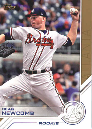 Photo of 2017 Topps Update Salute #USS21 Sean Newcomb