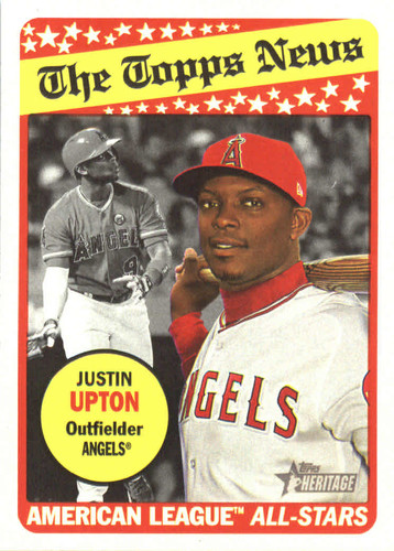 Photo of 2018 Topps Heritage #103 Justin Upton