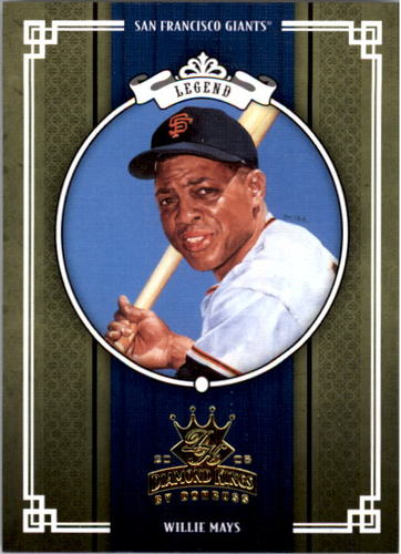 Photo of 2005 Diamond Kings #450 Willie Mays -- Hall of Fame Class of 1979