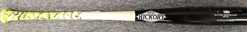 Photo of Authenticated Game Used Broken Bat - Aledmys Diaz ground out against Sonny Gray (June 6, 2018 vs New York Yankees). Bottom 6.