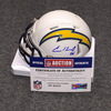 NFL - Chargers Casey Hayward signed Chargers mini helmet