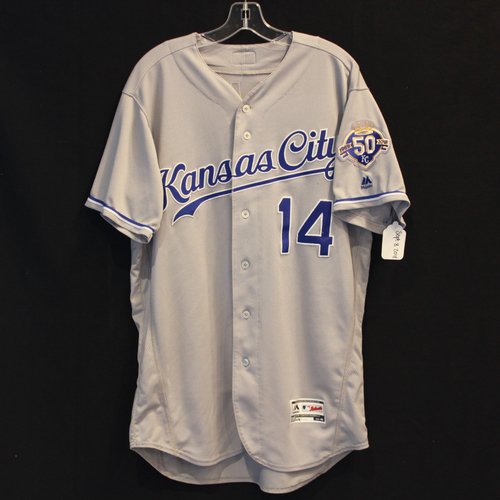 Photo of Game-Used Jersey: Brett Phillips (Size 46 - 9/8/18 - KC @ MIN)