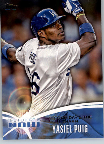 Photo of 2014 Topps The Future is Now #FN25 Yasiel Puig