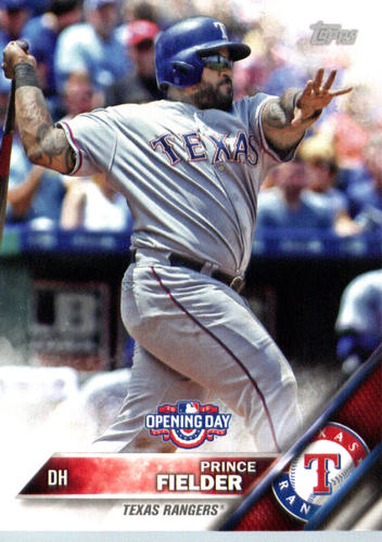 Photo of 2016 Topps Opening Day #OD75A Prince Fielder