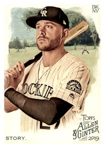 Photo of 2019 Topps Allen and Ginter #106 Trevor Story