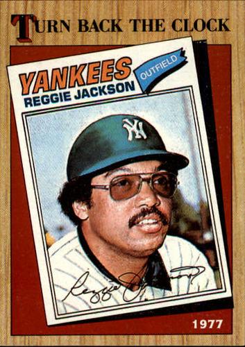 Photo of 1987 Topps #312 Reggie Jackson TBC