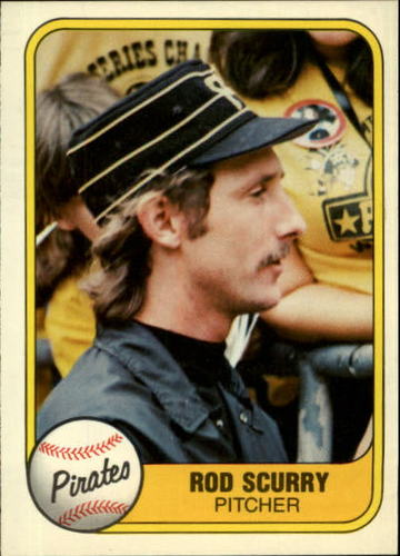 Photo of 1981 Fleer #380 Rod Scurry RC