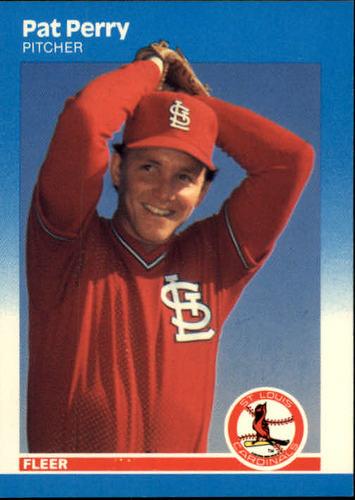 Photo of 1987 Fleer #307 Pat Perry