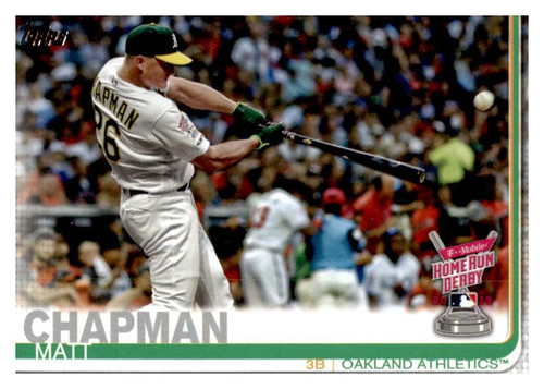 Photo of 2019 Topps Update #US48 Matt Chapman HRD