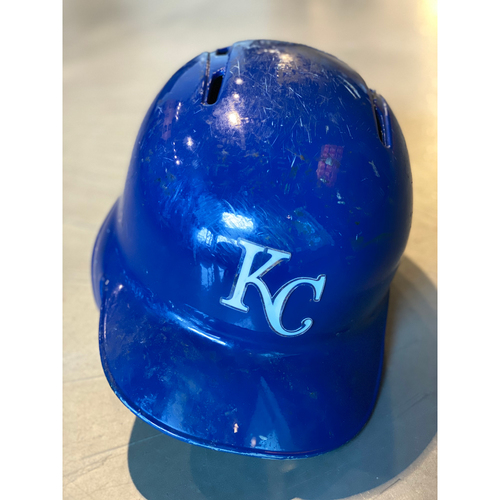 Photo of Game-Used Helmet: Ryan O'Hearn (Size 7 1/4 - MIN @ KC - 9/28/19)