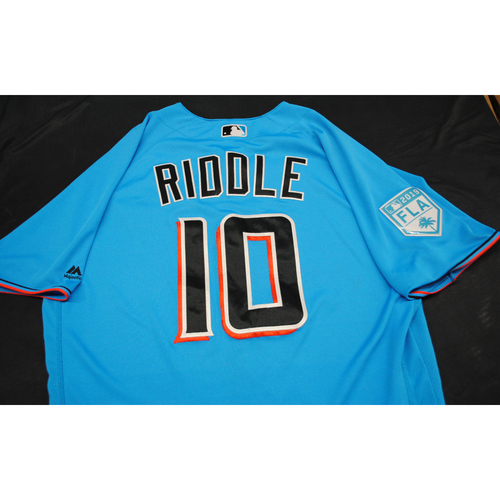 Photo of Game-Used 2019 Spring Training: JT Riddle #10 - Size: 46