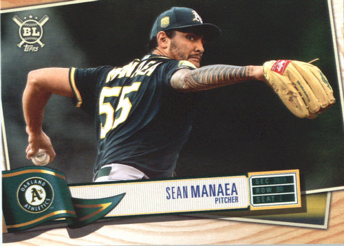 Photo of 2019 Topps Big League #54 Sean Manaea