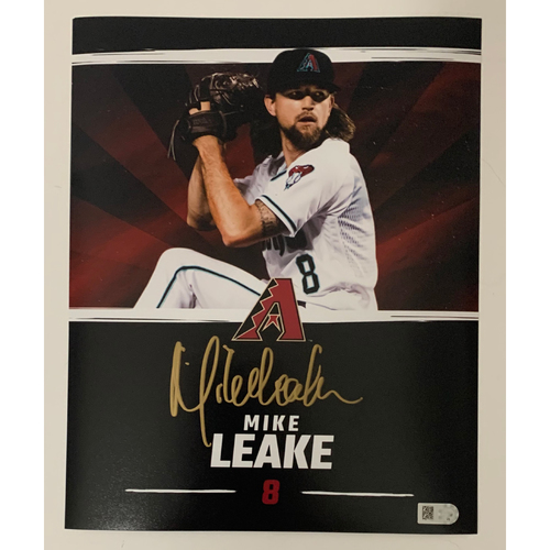 Photo of Mike Leake Autographed 8x10 Photo