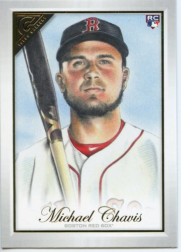 Photo of 2019 Topps Gallery #60 Michael Chavis RC
