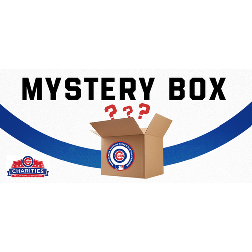Photo of Cubs Mystery Box - 2 Game-Used Baseballs and 1 Autographed Baseball