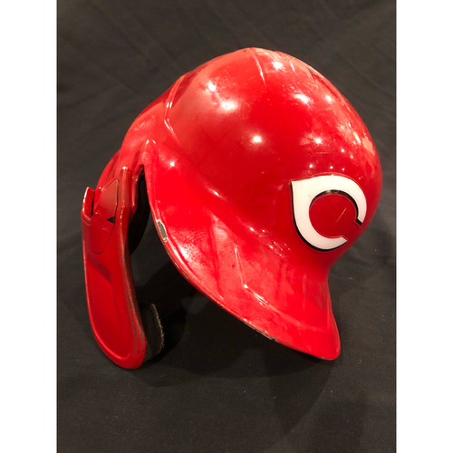 Photo of Freddy Galvis -- 2020 Game-Used Helmet -- Worn for Reds Playoff Clinch on Sept. 25, 2020 @ Twins -- Helmet Scheduled to Arrive Prior to Dec 24