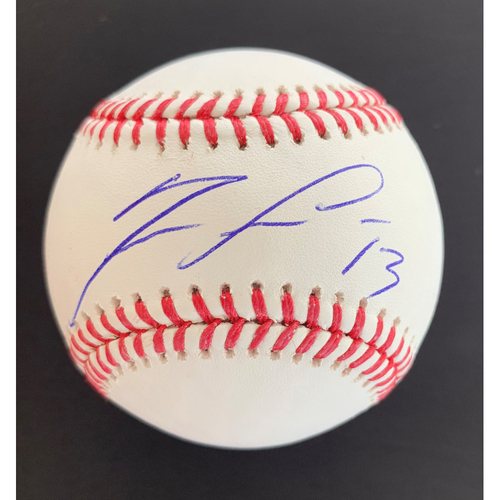 Photo of Ronald Acuna Jr. MLB Authenticated Autographed Baseball