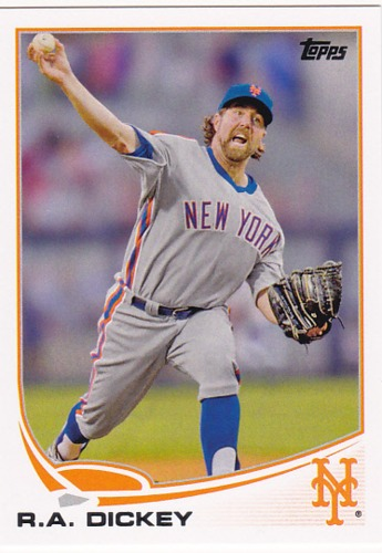 Photo of 2013 Topps #43 R.A. Dickey