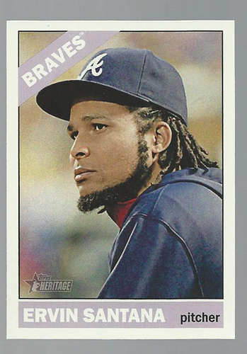 Photo of 2015 Topps Heritage #236 Ervin Santana