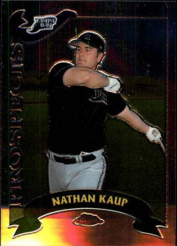 Photo of 2002 Topps Chrome Traded #T187 Nathan Kaup RC