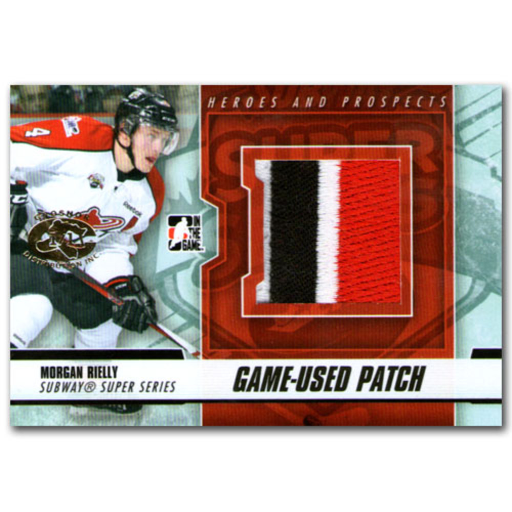 Morgan Rielly (Toronto Maple Leafs) In the Game Heroes and Prospects Game-Used Patch Card