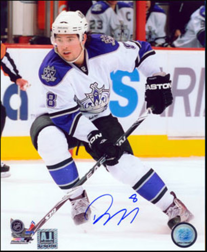 DREW DOUGHTY Los Angeles Kings SIGNED 8x10 Photo Rookie Photo
