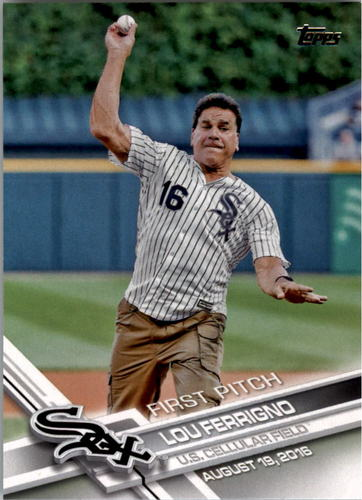 Photo of 2017 Topps First Pitch #FP16 Lou Ferrigno