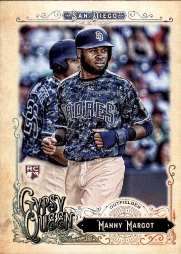 Photo of 2017 Topps Gypsy Queen #43 Manny Margot RC
