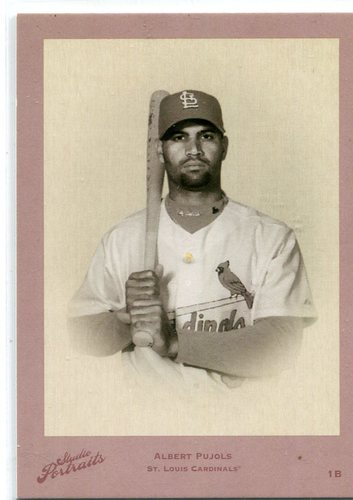 Photo of 2005 Studio Portraits DK Red black & white #5 Albert Pujols