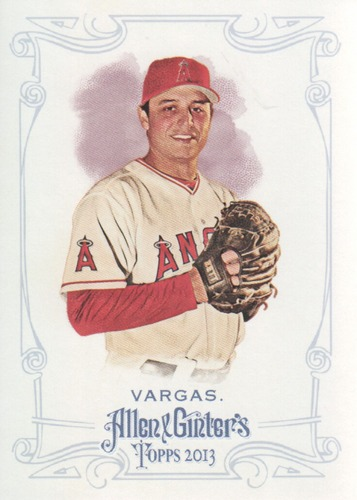 Photo of 2013 Topps Allen and Ginter #84 Jason Vargas