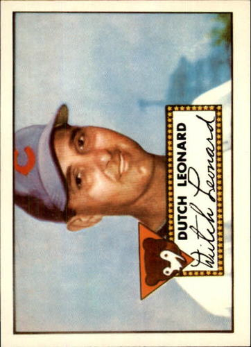 Photo of 1983 Topps 1952 Reprint #110 Dutch Leonard