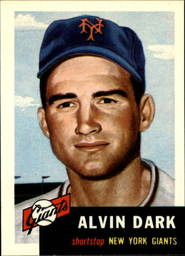 Photo of 1991 Topps Archives 1953 #109 Alvin Dark