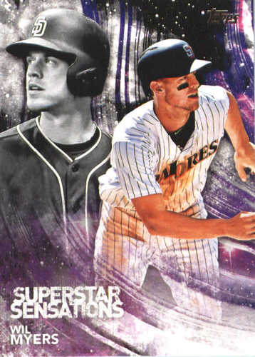 Photo of 2018 Topps Superstar Sensations #SSS8 Wil Myers