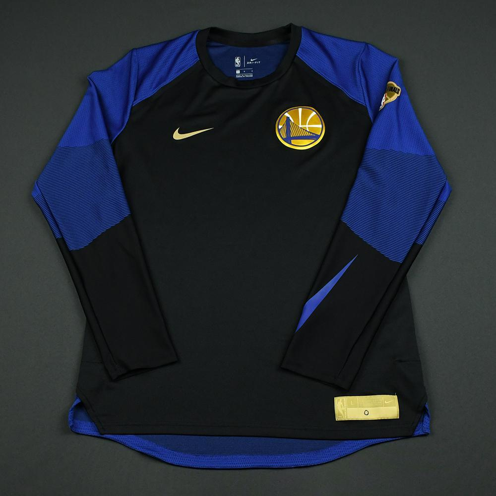 Patrick McCaw - Golden State Warriors - 2018 NBA Finals - Game-Issued Shooting Shirt