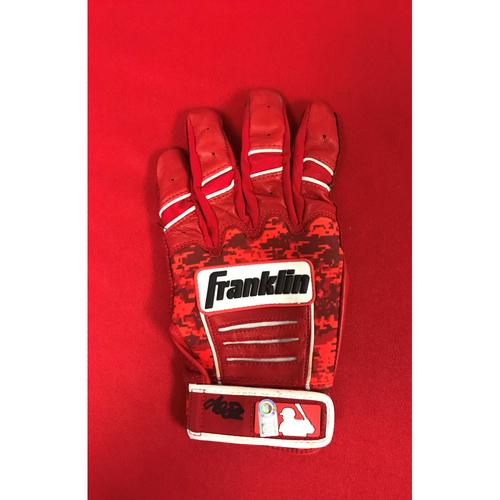 Photo of Autographed Adam Eaton Batting Glove