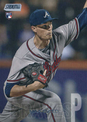 Photo of 2018 Stadium Club #217 Max Fried RC